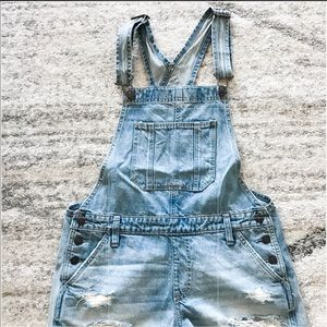 Women's Abercrombie & Fitch Short Overalls
